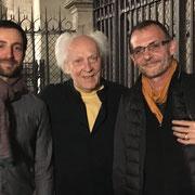Après la Symphonie initiatique, avec Jean Guillou et Yves Castagnet, Notre-Dame de Paris (25 septembre 2018)