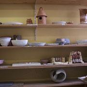 En cours de séchage en attente de cuisson