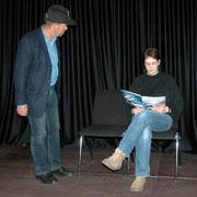 """Jörg Schnitzer/Martina Stölting in """"The Ticket Inspector"""""""