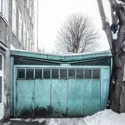 Bankräuber in Garage versteckt.....