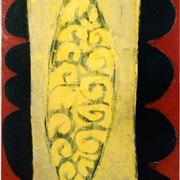 Hans Schubert, O.T.  Acryl auf Leinwand  200x100cm