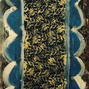 Hans Schubert, O.T.  Acryl auf Leinwand 200x90cm (vk)