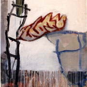 Hans Schubert, O.T.  Acryl auf Leinwand