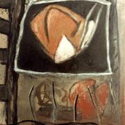 Hans Schubert, O.T.  Acryl auf Leinwand (vk)