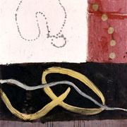 Hans Schubert, O.T.  Acryl auf Leinwand  140x100cm