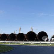 Gründungspfähle für Windkraftanlagen