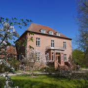Gutshaus Gottin hat einen herrlichen Rosengarten