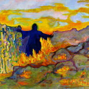 Spirit Walker, SOLD,  prints available