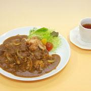 11レストラン・ヴェルデ とりからカレーライス(営業時間11:30〜14:00)