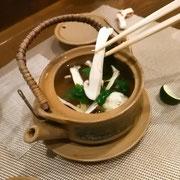 季節料理松茸の土瓶蒸し