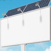 ソーラーバッテリーサイネージ