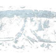brille - druck auf papier - 30 cm x 40 cm