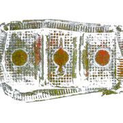 kekse- druck auf papier - 30 cm x 40 cm
