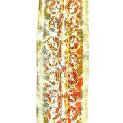 kaugummi -  druck auf papier - 30 cm x 40 cm