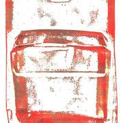 schutzhülle- druck auf papier - 30 cm x 40 cm