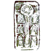 bleigiessen - druck auf papier - 30 cm x 40 cm