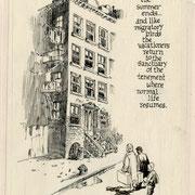"""Will Eisner : Planche originale d'un """"Bail avec Dieu"""" (c)Tous droits réservés"""