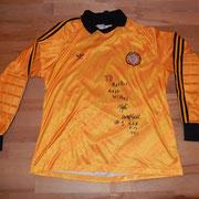 Geschenk des U16-Torhüters anlässlich seines Besuchs bei uns im Fussball-Corner Oechslin.