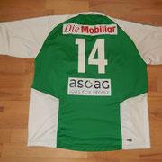 #14 - Martin Friedli matchworn