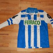 #4 - Mauro Silva - signiert von der ganzen Mannschaft