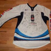 signiert von der ganzen Weltmeistermannschaft 2008 - Geschenk von Alexei Morozov, Captain der Nationalmannschaft