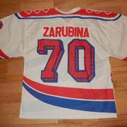 #70 - Zarubina - signiert nach einem Freundschaftsspiel in Rapperswil