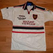 #10 - Sheringham - signiert - F.A. Carling Premiership Champions 1996-97