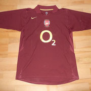 #20 - Philippe Senderos - last game Highbury 1913 - 2006