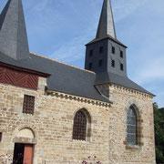 Trois Marie church XVI-XVII th (south side)