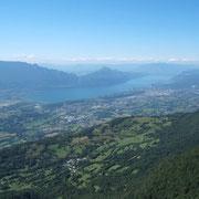 Panorama sur le lacdu Bourget