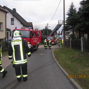 """Am 1. Weihnachtsfeiertag kam es in Schnarrtanne auf der """"Alten Schönheiderstraße"""" zu einem Schornsteinbrand."""