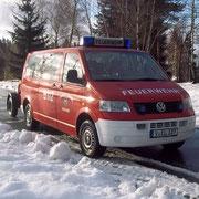 Mit diesem Fahrzeug können zusätzlich 9 Mann an die Einsatzstelle gelangen.
