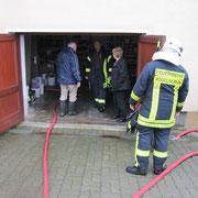 Einer von vielen Kellern in Schnarrtanne der unter Wasser stand.