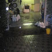 Das Wasser überschwämmte die gesammte Kelleretage.