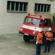 Einsatzübung im Waldpark Grünheide                                                            Foto: B.Seidel