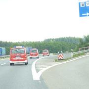 Zusammen mit der Jugendfeuerwehr Auerbach, ging es am Freitag nach Waldfrieden.