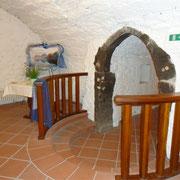 Gewölbekeller, kleiner Raum