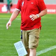 Head Coach Maximilian von Garnier