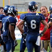 Coach Max mit seiner Offense