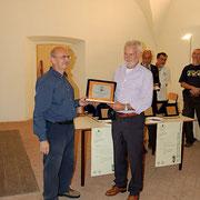 Rodolfo Ghezzi, Brianza Bonsai ritira il premio IBS Suiseki