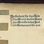 Spruch in Rothenburg