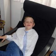 Der Sohn der Pfotografin, Michael: er war ganz ruhig und hat sich bestens um die Verpflegung der Meeris gekümmert!
