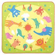 2018年度幼稚園用 「丸洗いキッズラグ」イラスト 販元 ジャクエツ