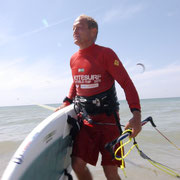 Chip Wesson pro Kiteboarder