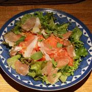 滝沢スイカのサラダ
