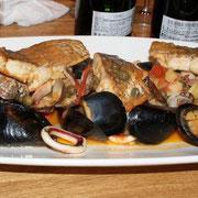 シチリア風魚介のヴァポーレ