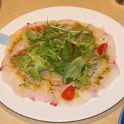 鱈のカルパッチョ