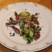 ホタルイカのサラダ