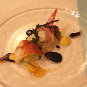 魚介の前菜