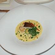 魚料理(鯛と帆立のポアレ)